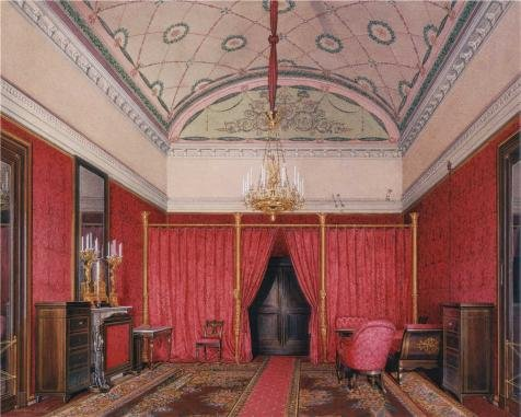 [The High Quality Polyster Canvas Of Oil Painting 'Hau Edward Petrovich,The First Reserved Apartment. The Dressing Room Of Grand Princess Maria Nikolayevna,1807-1887' ,size: 30x37 Inch / 76x95 Cm ,this High Resolution Art Decorative Prints On Canvas Is Fit For Home Theater Artwork And Home Decoration And] (Hipster Disney Princesses Costumes)