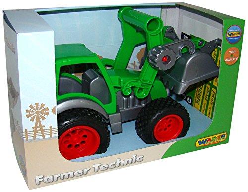 WADER Farmer Traktor m., Frontlader u. Kipper (37787)