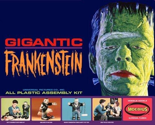 Gigantic Frankenstein Big Frankie Moebius Models from Moebius Models