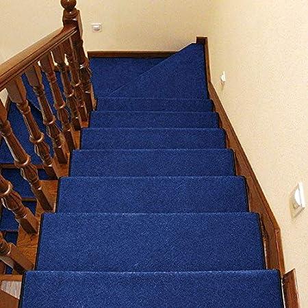 HBY-RUGS Escaleras Almohadillas de alfombras para Las Huellas De Escalón Huellas De Escalón Auto-Adhesivo De La Alfombra De La Escalera De Alfombras Cojines Antideslizantes En Las Tiras De Escalera: Amazon.es: Hogar