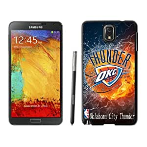 New Custom Design Cover Case For Samsung Galaxy Note 3 N900A N900V N900P N900T Oklahoma City Thunder 2 Black Phone Case