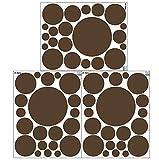 Create-A-Mural Polka Dot Wall Stickers, (63) Wall