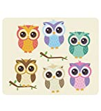 Comcl Personalized Mouse Pad (Owls Mouse Pad)