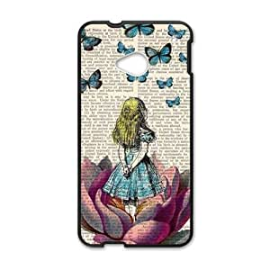 Happy Butterflies lovely girl Cell Phone Case for HTC One M7