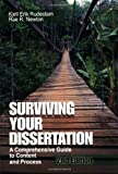 img - for Surviving Your Dissertation: A Comprehensive Guide to Content and Process by Kjell E. (Erik) Rudestam (26-Oct-2000) Paperback book / textbook / text book