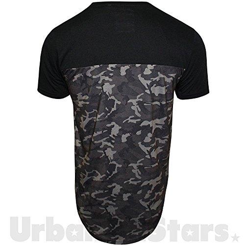 SoulStar Herren T-Shirt schwarz schwarz Einheitsgröße