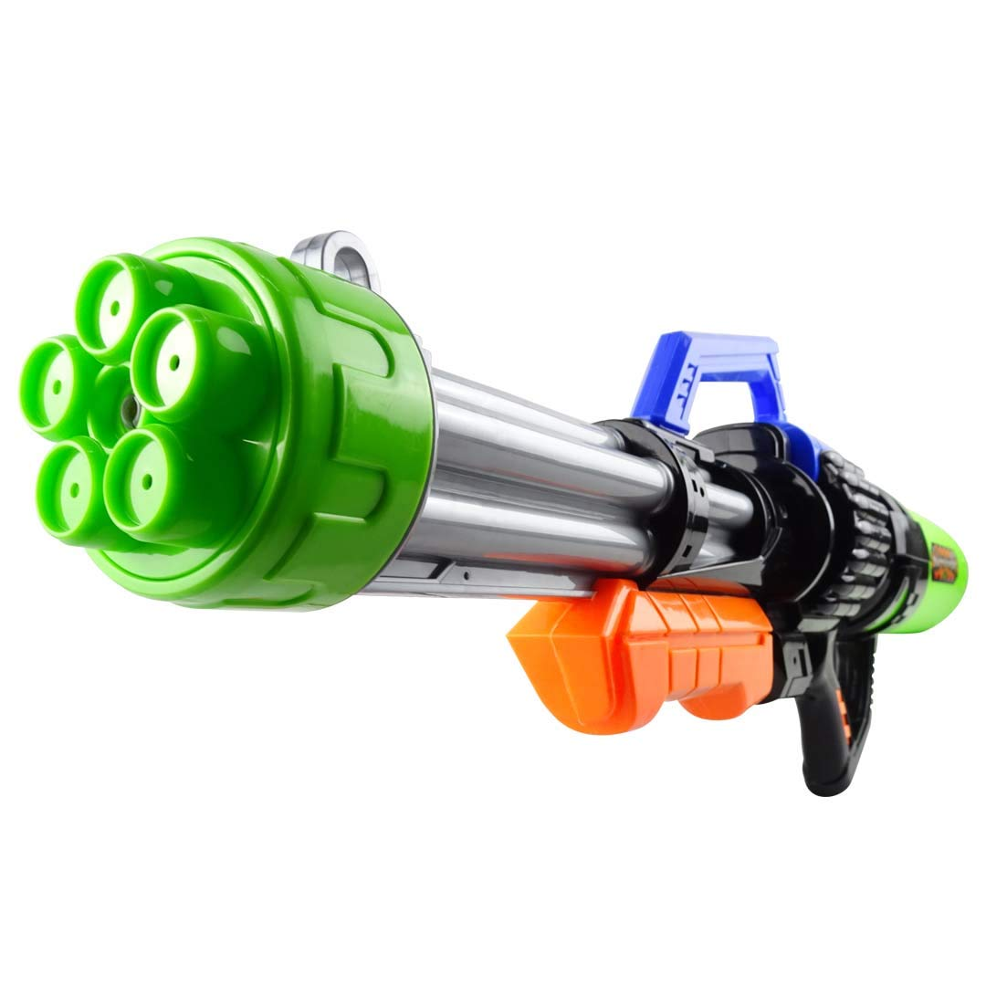 Feicolt 30inch Super Water Gun(No Leaking) Water Toys 5 Nozzles Water Blaster High Capacity 2100CC Squirt Gun 50ft Water Pistol Water Fight Summer Toys Outdoor Swimming Pool Beach Water Toy for Adult by Feicolt