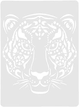 Prosperveil Tier-Design Malerei Zeichnung Schablonen Vorlagen f/ür Kinder Erwachsene DIY Basteln Kunst Papier Karte Basteln Scrapbooking Album Dekoration Adler