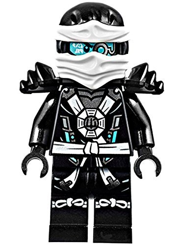 [해외]레고 닌자 고 미니 피그 레 - 제인 딥 스톤 Minifig with Armor (70737)/LEGO Ninjago Minifigure - Zane Deepstone Minifig with Armor (70737)