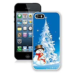 Case For Iphone 6 4.7 Inch Cover Snowmans With Snow Christmas Tree White Case For Iphone 6 4.7 Inch Cover Protective Case