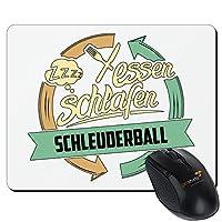 getshirts - RAHMENLOS® Geschenke - Mousepad - Sport Schleuderball - weiss uni