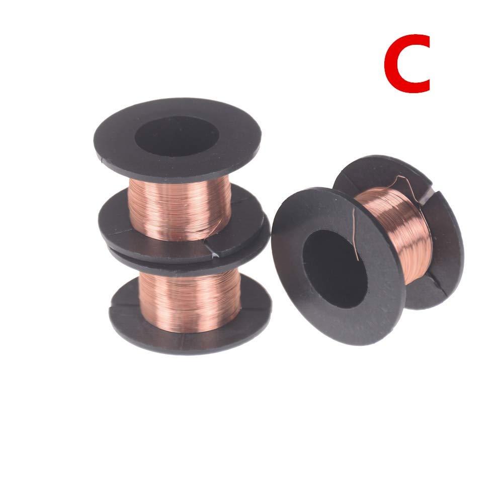 Jammas 1pc Or 2pcs Desoldering Braid Solder Remover Soldering Enamelled Reel Wire Roll Wick Wire Repair Tool 0.1-3.5mm 1.5/10/11/100M - (Diameter: B 2PCS)