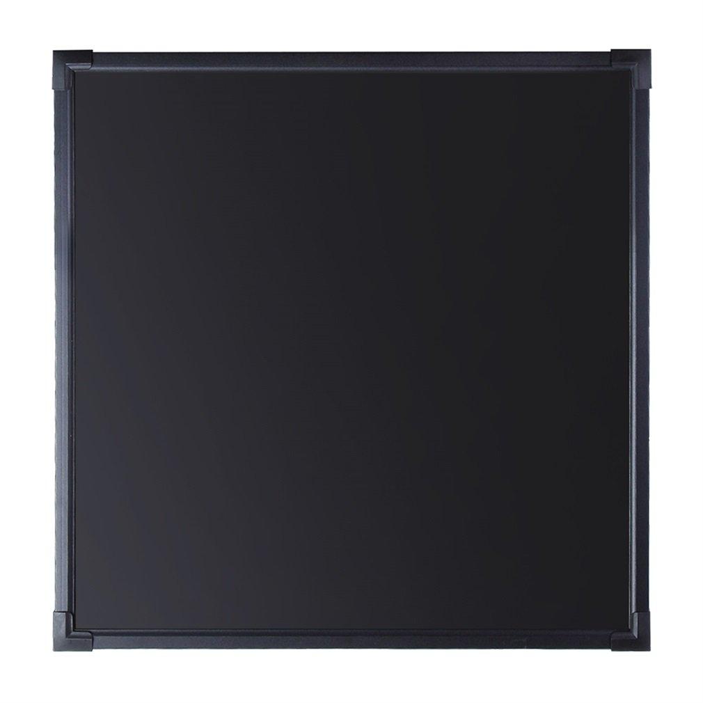 16*12 LESHP Tableau M/émo en Verre Noir Tableau lumineux /à LED Ardoise lumineuse fluorescent /à LED Tableau Enfant Ardoise Murale M/émo Enfant Tableau Ardoise D/écoration Maison