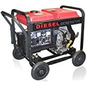 ETQ DG4LE 4,900 Watt 8 HP 296cc Diesel Powered Portable Generator With Electric Start (Discontinued by Manufacturer)