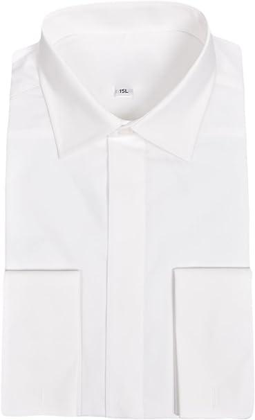 Ex-Branded Herren Fmen Milan Italy Camisa Doble Puño Formal ...