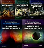 Arihant Understanding Physics - Set of 5 Books: Mechanics 1 + Mechanics 2 + Electricity & Magnetism + Waves & Thermodynamics + Optics & Modern Physics