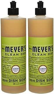 product image for Mrs. Meyer's Clean Day Liquid Dish Soap, Lemon Verbena 16 fl oz(Pack of 2)