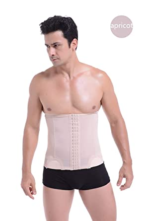 338896c64a7a3 HITSAN INCORPORATION NINGMI Slimming Belt Belly Strap Mens Body Shaper Mans  Corset Abdomen Tummy Pulling Shaperwear