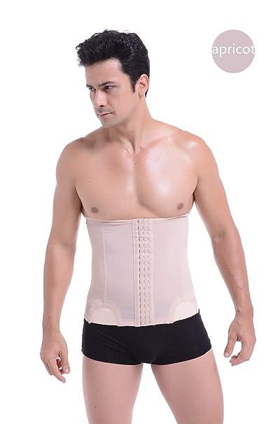 5167aec674a HITSAN INCORPORATION NINGMI Slimming Belt Belly Strap Mens Body Shaper Mans Corset  Abdomen Tummy Pulling Shaperwear