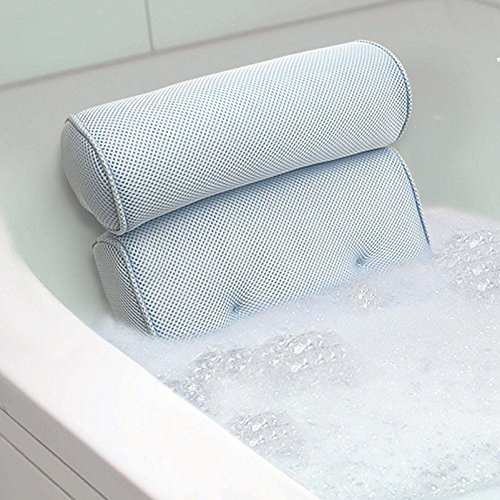 Home Spa Bath Pillow Comfort Neck Rest Back Support Bathtub, Neck Pillow Bathtub