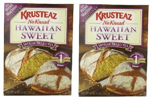 - Krusteaz No Knead Hawaiian Sweet Bread Mix (16 oz Boxes) 2 Pack