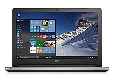 Dell Inspiron 15.6-Inch HD 1920 x 1080 LED Touchscreen Laptop (ntel Core i5-4210U, 8GB, 1TB HDD, DVD+/-RW Drive, HDMI, Bluetooth, Win 10), Silver