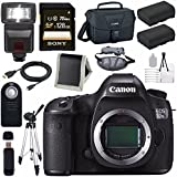 Canon EOS 5DS-R 5DSR DSLR Camera + LPE-6 Lithium Ion Battery + Canon 100ES EOS shoulder bag Bundle 3