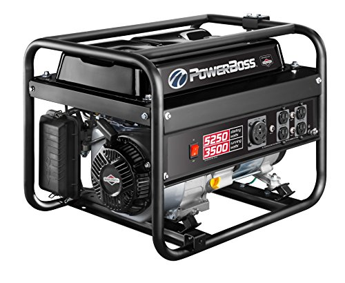 PowerBoss 30667 Portable Generator, 5250 Starting Watts 3500 Running Watts