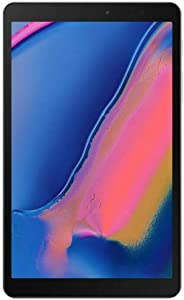 """Samsung Galaxy Tab A 8.0"""" with S Pen (2019) 32GB, 4200mAh Battery, 4G LTE Tablet & Phone (Makes Calls) GSM Unlocked SM-P205, International Model (Wi-Fi + Cellular, Gray)"""