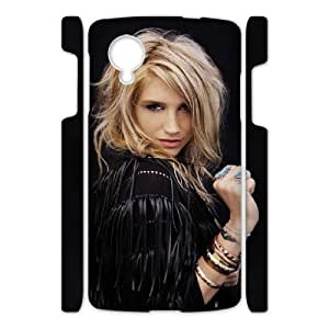 Printed Phone Case Ke$ha For Google Nexus 5 NC1Q01882