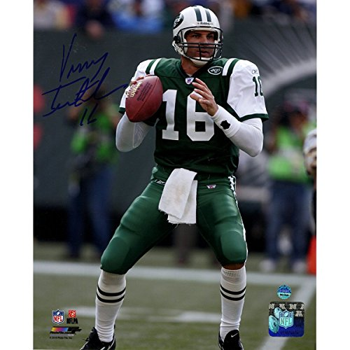 - Vinny Testaverde Signed New York Jets 8x10 Photo