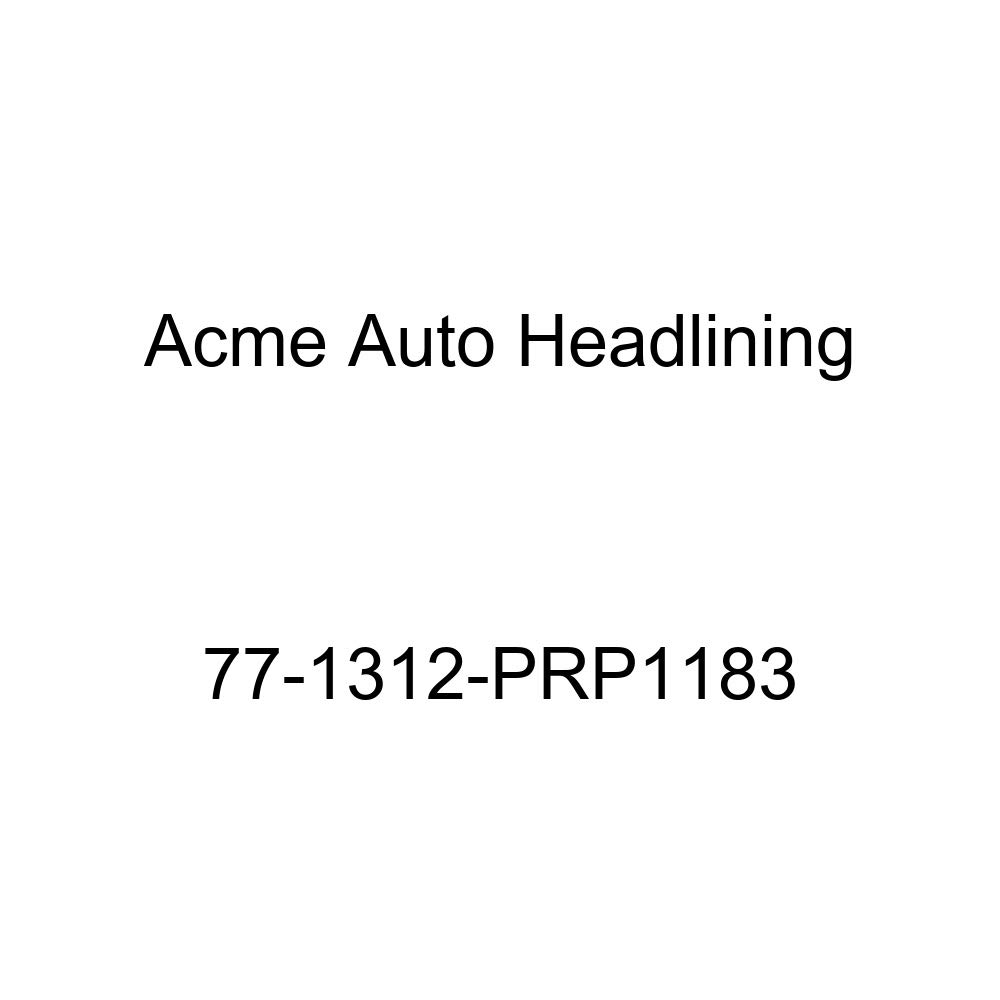 Acme Auto Headlining 77-1312-PRP1183 Dark Blue Replacement Headliner 1977 Cadillac Eldorado 2 Door Coupe 5 Bow