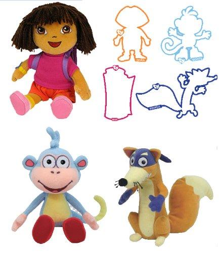 TY Beanie Babies Dora the explorer 0e18b6e5fbe