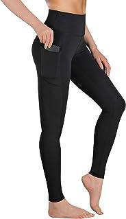 Gimdumasa Yoga Pants for Women Flex Leggings High Waist with Pockets Tummy Control Workout Running Tights GI188