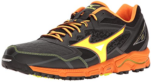Mizuno Men's Wave Daichi 2 Trail Runner - Dark Shadow/Clo...