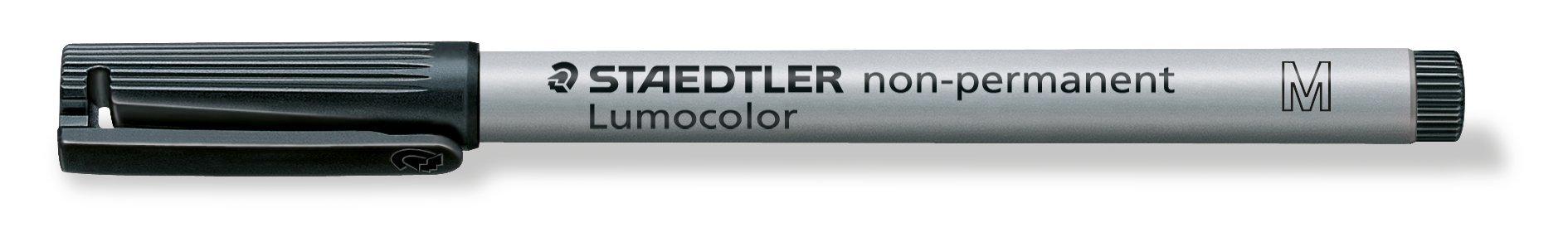 Staedtler 315-9 - Lumocolor Ohp Pen Non-Perm Med 0.8Mm Black 315 - (Pk10)