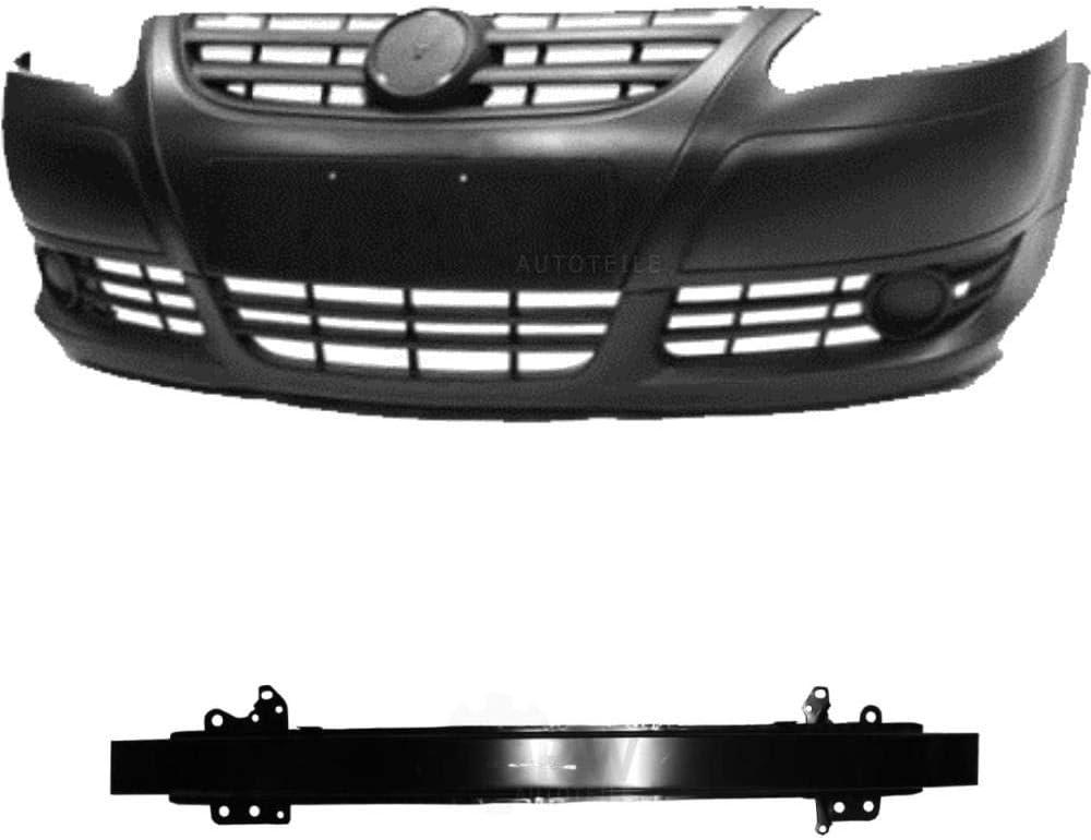 05- Set Kit Sto/ßstange vorne schwarz grundiert Tr/äger f/ür Fox 5Z1 5Z3 Bj