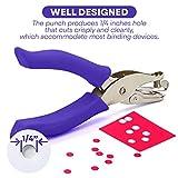 Emraw Premium Single Hole Paper Punch Cushion Grip