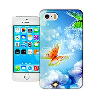 Lavender's shop Butterfly For TPU Hard Cover Case iPhone 5s