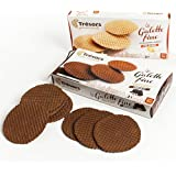 Thin Waffle Butter Cookies by Tresors Gourmands - Plain (3.5 ounce)