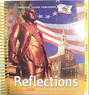 Harcourt brace social studies grade 5 vol 1 united states reflections united states history making a new nation grade 5 teacher edition vol 2 california fandeluxe Images