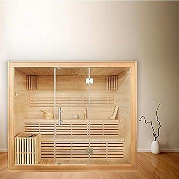 Turbo Sauna für 6 Personen, B 2,2m, mit Sternenhimmel: Amazon.de: Baumarkt DS02
