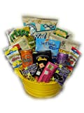 Healthy Movie Night Gift Basket by Well Baskets