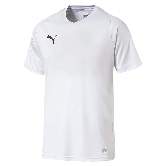 Puma Liga Core Jersey, Hombre, 703509, Puma White/Puma Black, XXXL ...