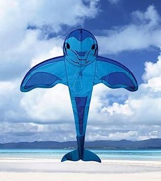 WindNSun BreezyFliers Dolphins Nylon Kite 42 Inches Tall
