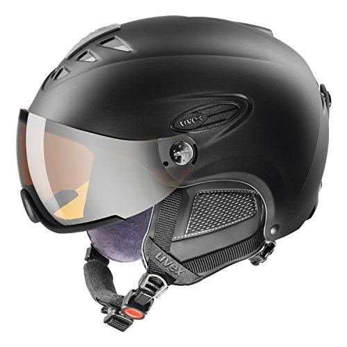 Uvex 300 Visor Ski Helmet Medium Black Mat
