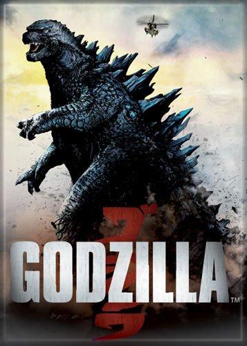 Godzilla - Full Body - Refrigerator Magnet (Godzilla Magnet)