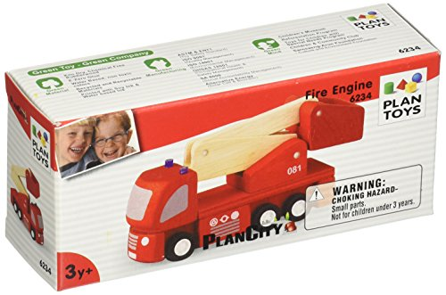 PlanToys Fire Engine
