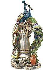 Design Toscano Peacocks Home Decor Statue