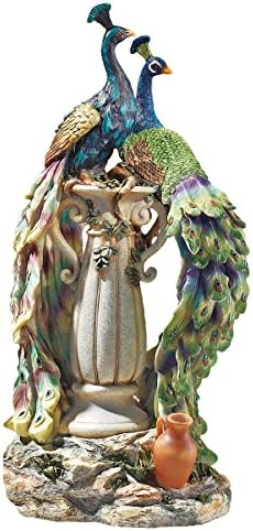 Design Toscano KY69768 Peacock
